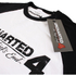 Uncharted 4 Men's Logo Raglan T-Shirt - White/Black: Image 3