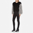 Charlotte Simone Women's Classic Fuzz Jacket - Black/Charcoal Grey - S/M: Image 4