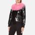 Charlotte Simone Women's Va-Va Varsity Jacket - Black/Pink - S/M: Image 2