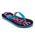 Superdry Women's Flip Flops - Blue Atol/Imperial Pink: Image 2