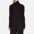 Bella Freud Women's 1970 Polo Merino Wool Jumper - Black: Image 3
