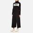 Bella Freud Women's 1970 Polo Merino Wool Jumper - Black: Image 4