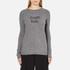 Bella Freud Women's Political Merino Wool Jumper - Grey: Image 1