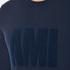 AMI Men's Crew Neck Sweatshirt - Night Blue: Image 5