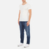 AMI Men's Carrot Fit Jeans - Blue: Image 4