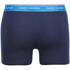 Tommy Hilfiger Men's 3 Pack Premium Essentials Trunk Boxer Shorts - Antique Moss/Brilliant Blue/Samba: Image 3