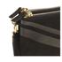 WANT LES ESSENTIELS Women's Barajas Zip Folio - Black Nubuck Stripe: Image 3