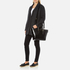 Aspinal of London Women's Marylebone Medium Croc Tote - Black Croc: Image 2