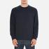 Barbour Heritage Men's Standards Sweatshirt - Navy: Image 1