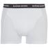 Bjorn Borg Men's Contrast Solids Triple Pack Boxer Shorts - White: Image 4