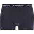 Bjorn Borg Men's 3 Pack Stripe Detail Boxer Shorts - Sodalite Blue: Image 2