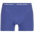 Bjorn Borg Men's 3 Pack Stripe Detail Boxer Shorts - Sodalite Blue: Image 5