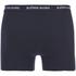 Bjorn Borg Men's 3 Pack Stripe Detail Boxer Shorts - Sodalite Blue: Image 3