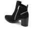 KENZO Women's Totem Heeled Ankle Boots - Black: Image 4