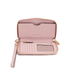 MICHAEL MICHAEL KORS Jet Set Travel Phone Purse - Pink: Image 4