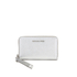 MICHAEL MICHAEL KORS Jet Set Travel Phone Purse - Silver: Image 1