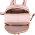 MICHAEL MICHAEL KORS Rhea Zip Small Crossbody Backpack - Pink: Image 5