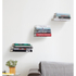 Umbra Conceal Wall Floating Book Shelf - Silver (3 Pack): Image 2