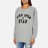 Maison Scotch Women's Wish Upon A Star Boxy Fit Sweatshirt - Grey: Image 2