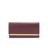 Ted Baker Women's Anneth Matinee Metal T Bar Purse - Oxblood: Image 1