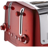 Dualit 46281 Lite 4 Slot Toaster - Metallic Red: Image 2