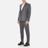 Carven Men's Double Breasted Blazer - Gris Chine: Image 4