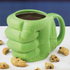 Hulk Shaped Mug - Green: Image 1