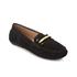 Lauren Ralph Lauren Women's Caliana Suede Loafers - Black: Image 2