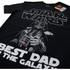 Star Wars Men's Vader Best Dad T-Shirt - Black: Image 2