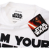 Star Wars Men's Father Sabre T-Shirt - White: Image 3