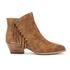 Ash Women's Lenny Suede Tassel Ankle Boots - Russet: Image 1