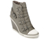 Ash Women's Thelma Leather Wedged Trainers - Perkish: Image 2