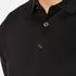 HUGO Men's Delato Long Sleeve Mercerised Polo Shirt - Black: Image 5