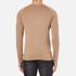 HUGO Men's San Francisco Cotton Silk Cashmere Jumper - Light/Pastel Brown: Image 3