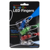 Multicoloured Strap on LED Finger Lights: Image 3