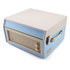GPO Retro Bermuda Classic Style Turntable with MP3, USB, Built-In Speakers and Removable Legs - Blue/Cream: Image 4