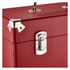 GPO Retro Portable Carry Case for LP Records and 12-Inch Vinyl - Red: Image 5