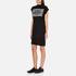 Cheap Monday Women's Capsule Stripe Logo T-Shirt Dress - Black: Image 2