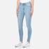 Cheap Monday Women's High Spray Jeans - Stone Bleach: Image 2