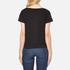 Cheap Monday Women's Had Stripe Logo T-Shirt - Black: Image 3