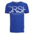 Crosshatch Men's Crusher Graphic T-Shirt - Mazarine Blue: Image 1