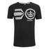 Crosshatch Men's Onsite Graphic T-Shirt - Black: Image 1