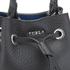 Furla Women's Stacy Rock Mini Drawstring Bag - Black: Image 5