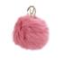 Furla Women's Bubble Keyring Pom Pom - Rose: Image 1
