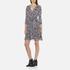 Diane von Furstenberg Women's Irina Dress - Ribbon Rectangles Khaki: Image 2