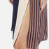 Diane von Furstenberg Women's Frederica Dress - Rickrack Khaki: Image 5
