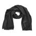 Marc Jacobs Women's Monogram Logo Shawl Scarf - Black: Image 1