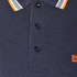 BOSS Green Men's Plisy Long Sleeve Polo Shirt - Blue: Image 6