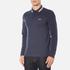 BOSS Green Men's Plisy Long Sleeve Polo Shirt - Blue: Image 2