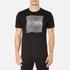 BOSS Green Men's Tee 8 Raised Print T-Shirt - Black: Image 1